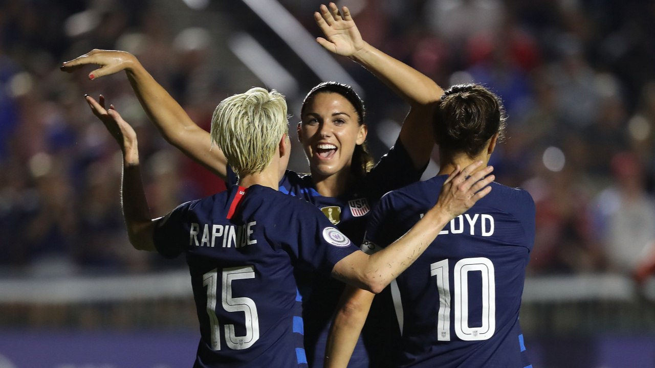 a16b6a7111f Entire US women s national team sue federation The US women s national team  has sued the US Soccer Federation for alleged gender discrimination