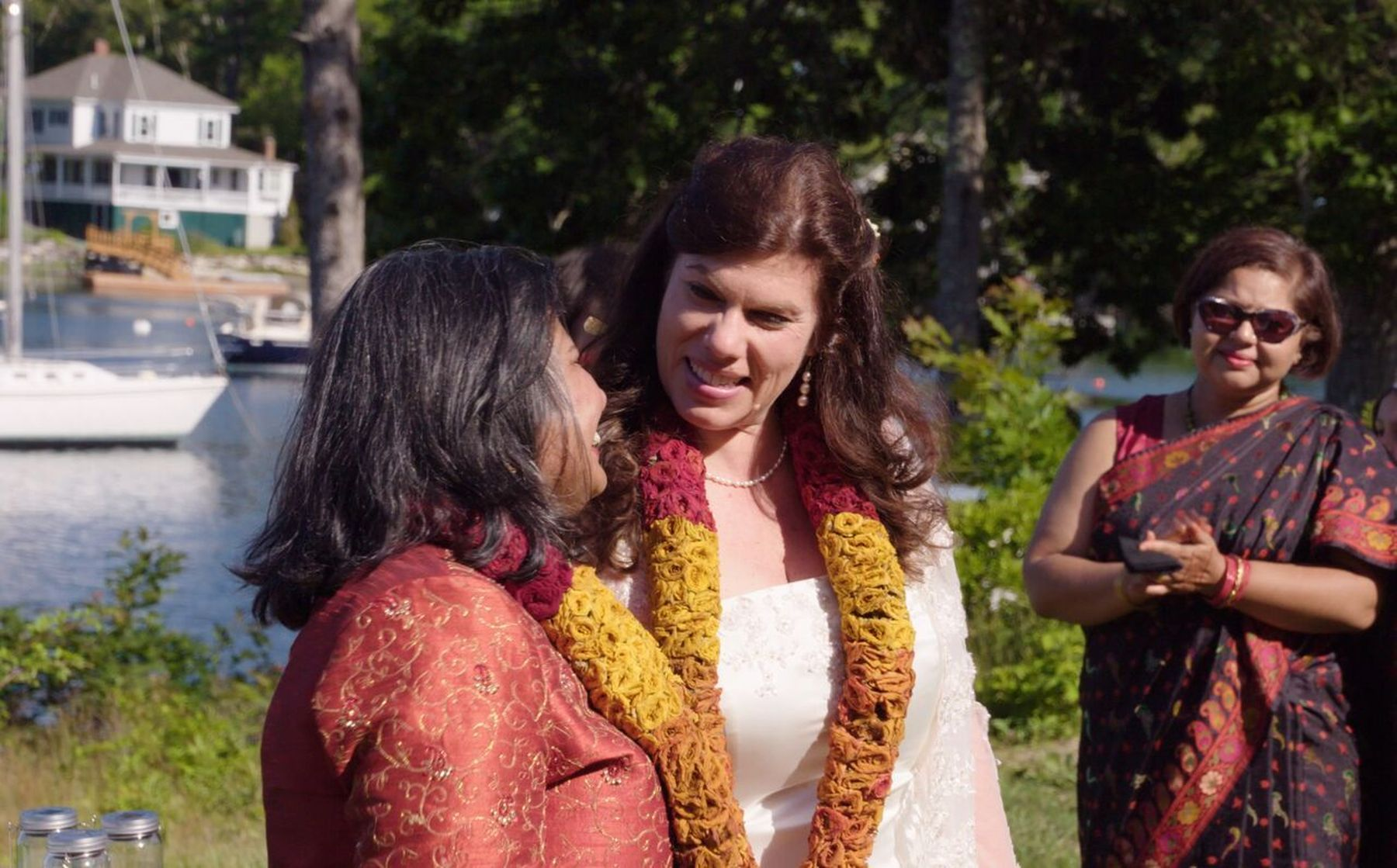 Lesbian couple to feature on 'My Big Bollywood Wedding' | SBS ...