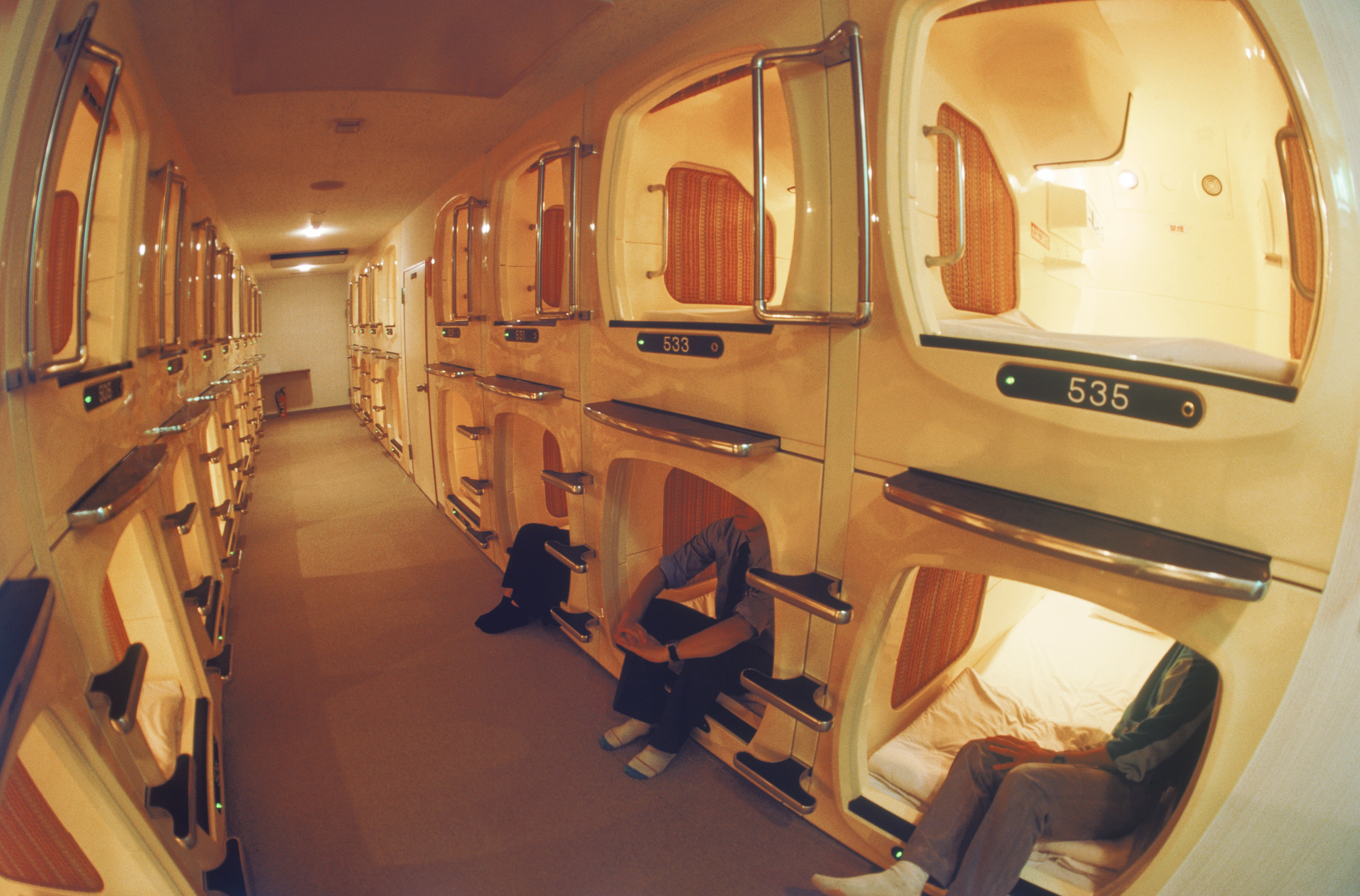 Australia s first capsule hotel is opening in sydney sbs for Design hotel japan