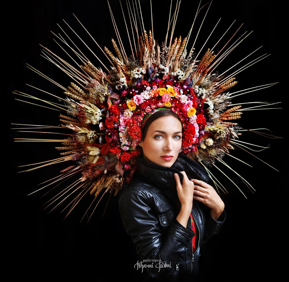 These traditional floral crowns celebrate ukrainian culture in the these traditional floral crowns celebrate ukrainian culture in the most beautiful way bring back the vinoks these floral headdresses traditionally worn dhlflorist Gallery