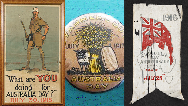The many different dates we've celebrated Australia Day