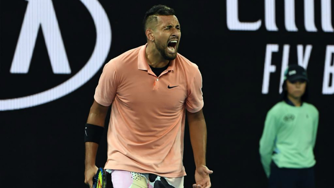'Completely recreate yourself' - The cause driving Kyrgios at Australian Open