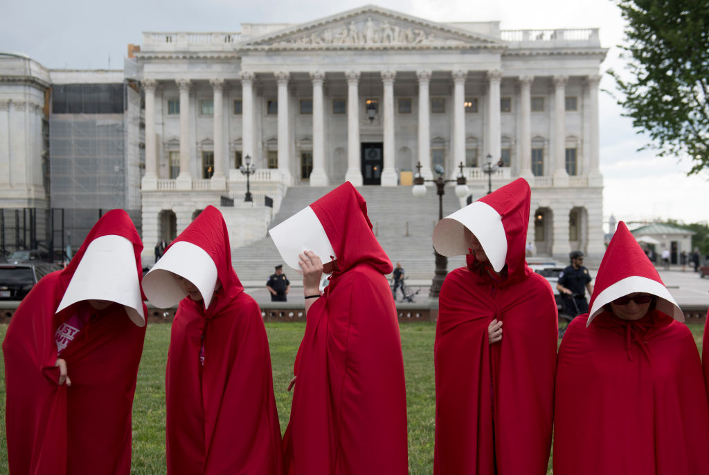 The Red Robes Of The Handmaids Tale Have Gone Global Sbs Life