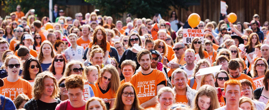 6ed7a34f0a #Goginger: The 'ginger pride' movement sweeping through Melbourne Redheads  and copper-tops of Australia will come together en-masse in Melbourne for  the ...