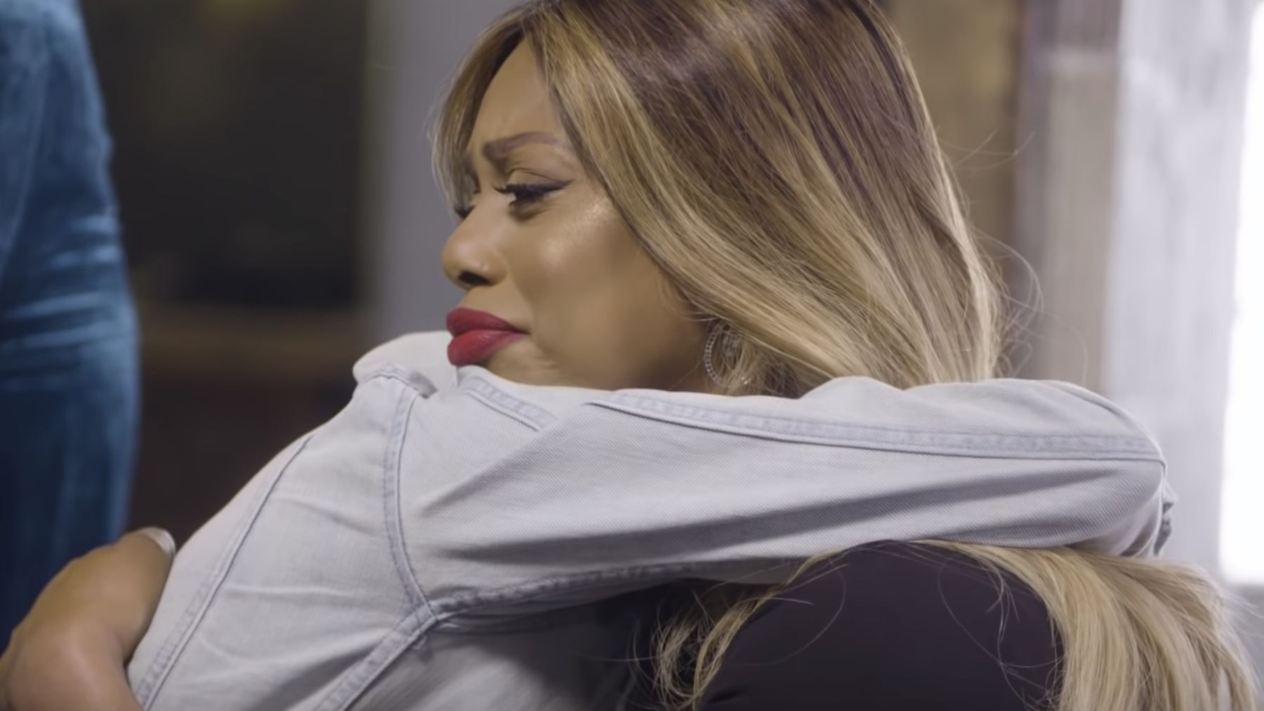 Watch Laverne Cox surprise a trans man who had never met another trans  person Trans man Rickey had never met another transgender person before, ...