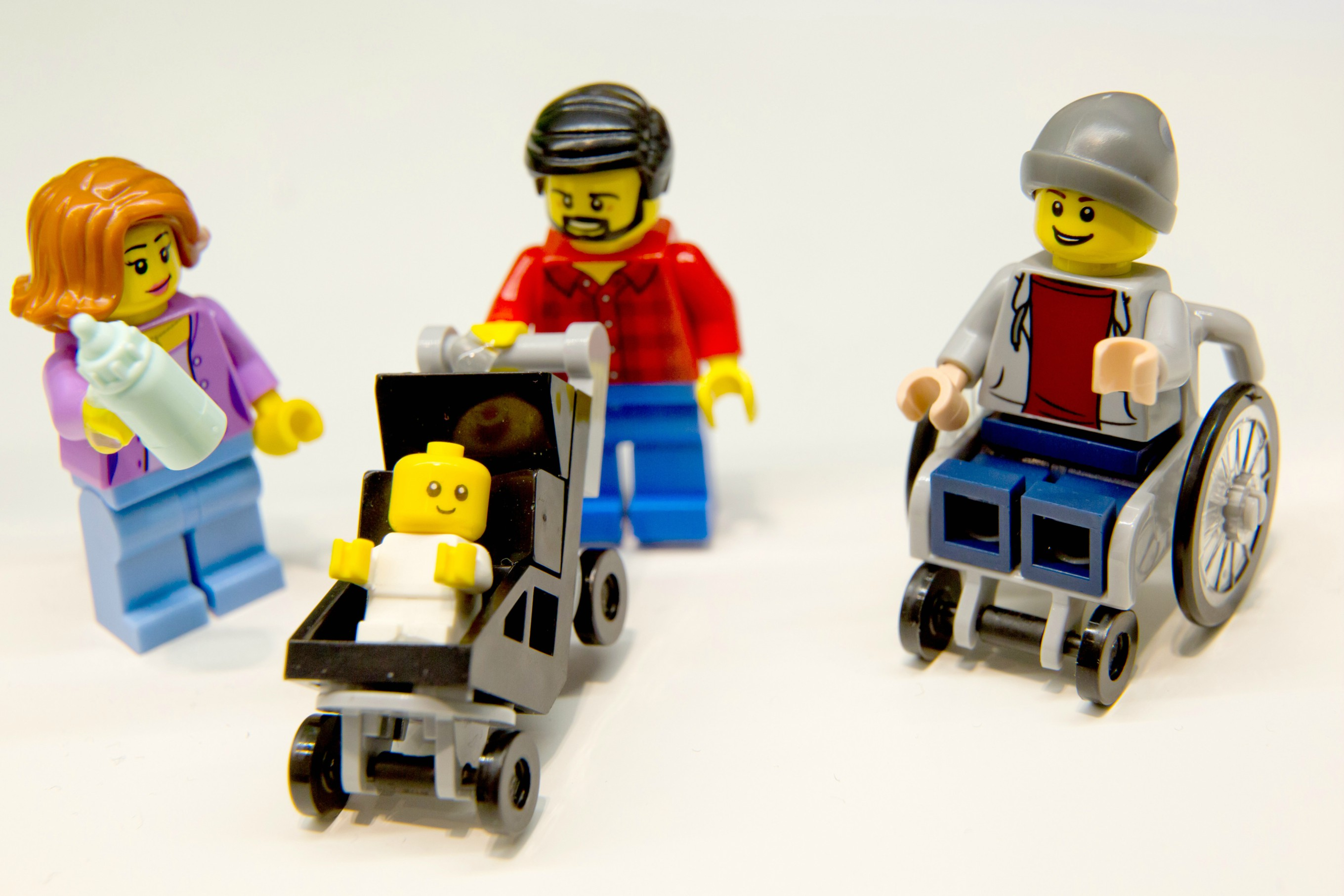 Lego Unveils First Ever Wheelchair Minifigure