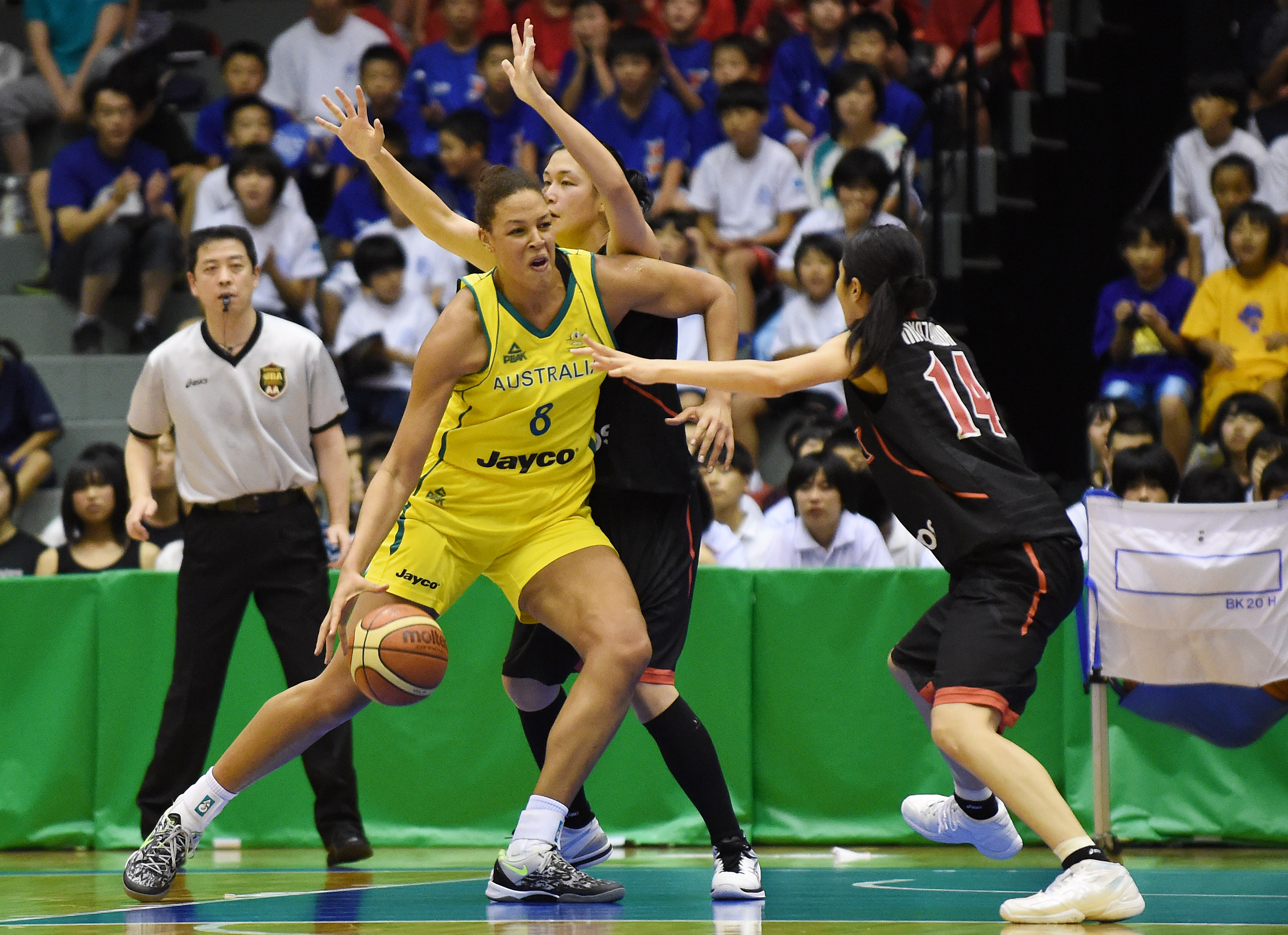 the opals success in rio depends on liz cambage zela