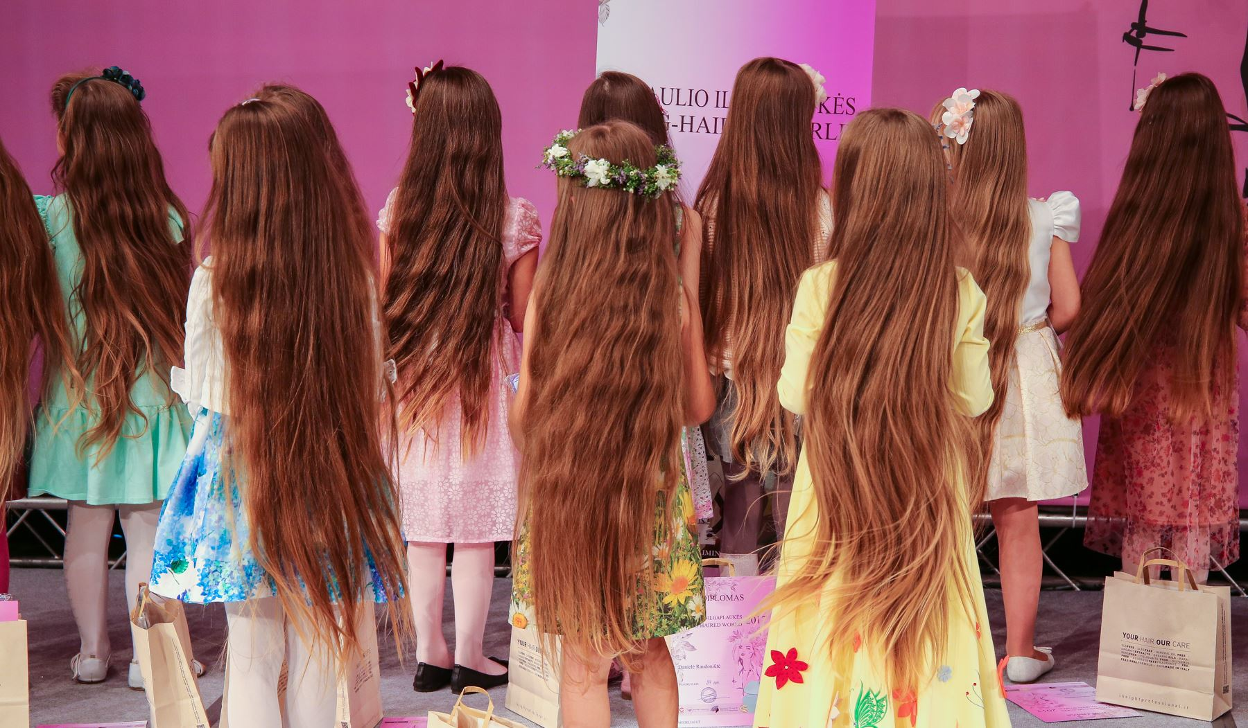 Lithuanian girls compete in long hair contest | SBS Life