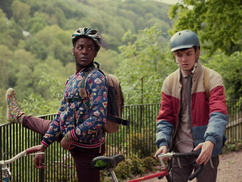 Twitter is loving the representation in 'Sex Education' on Netflix Starring  Gillian Anderson, British comedy 'Sex Education' is winning over viewers on  ...