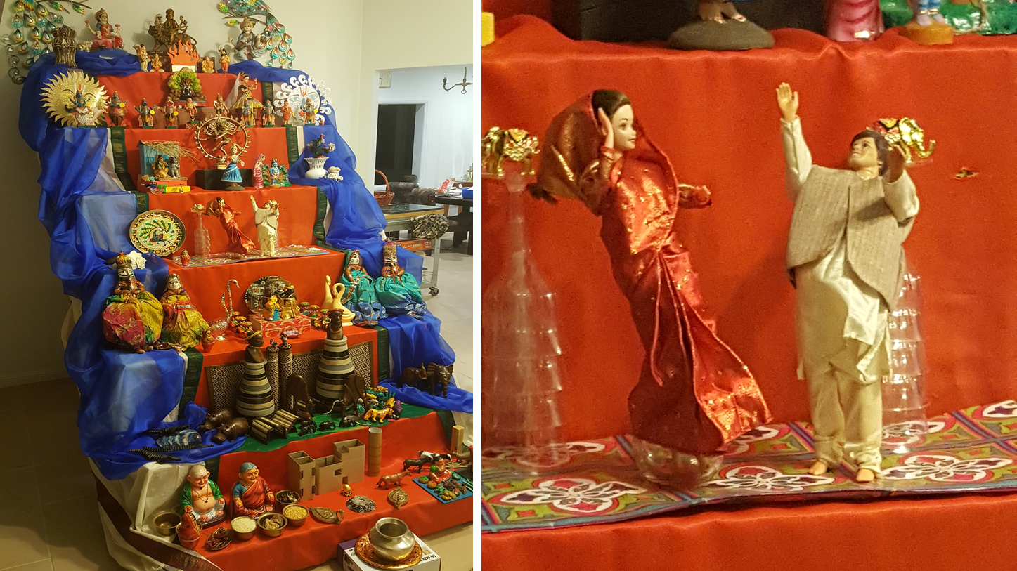 Navratri decoration at home 100 decoration for navratri at for Navratri decorations at home