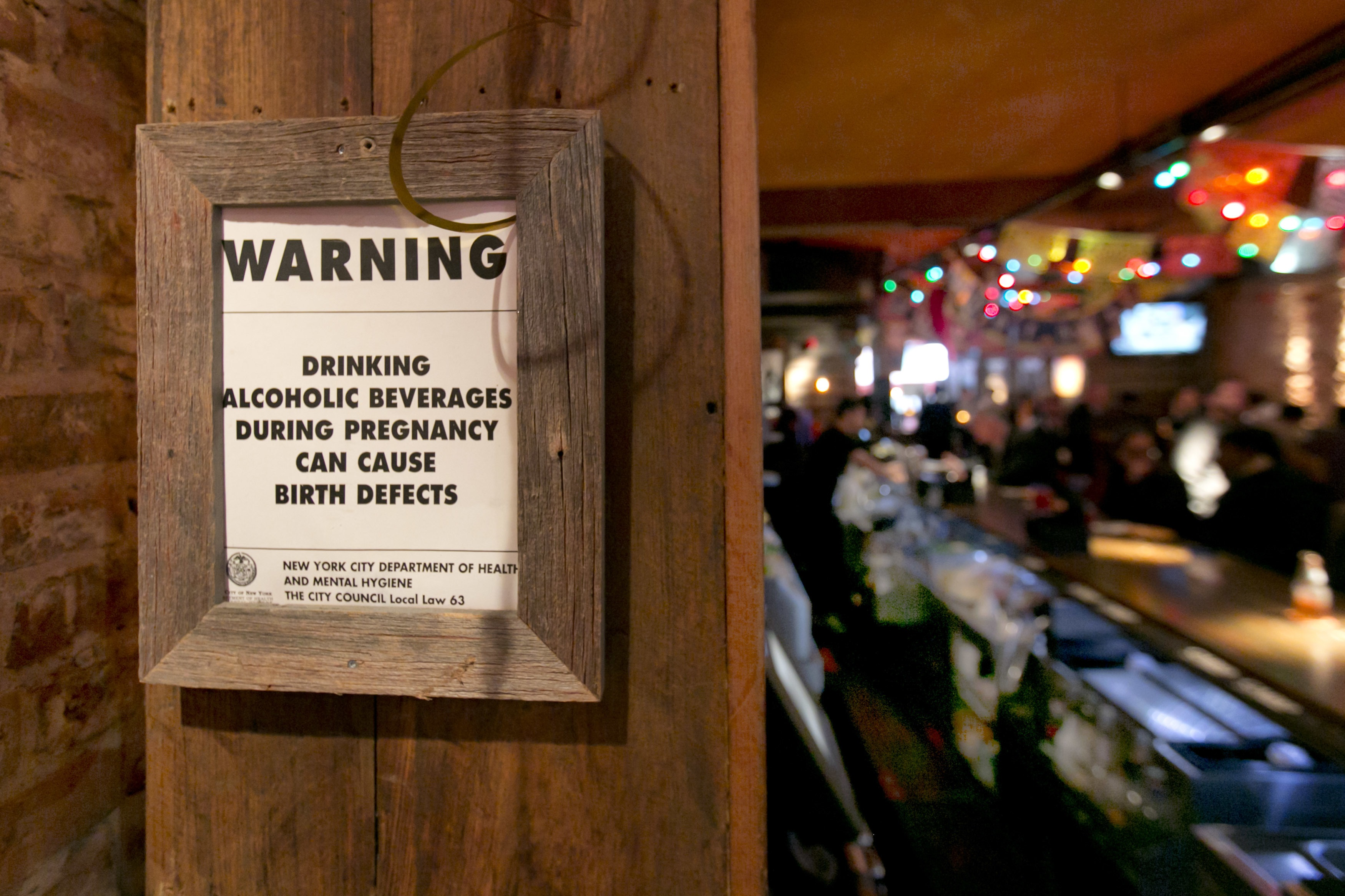 Now Bars In New York Must Provide Pregnant Women With