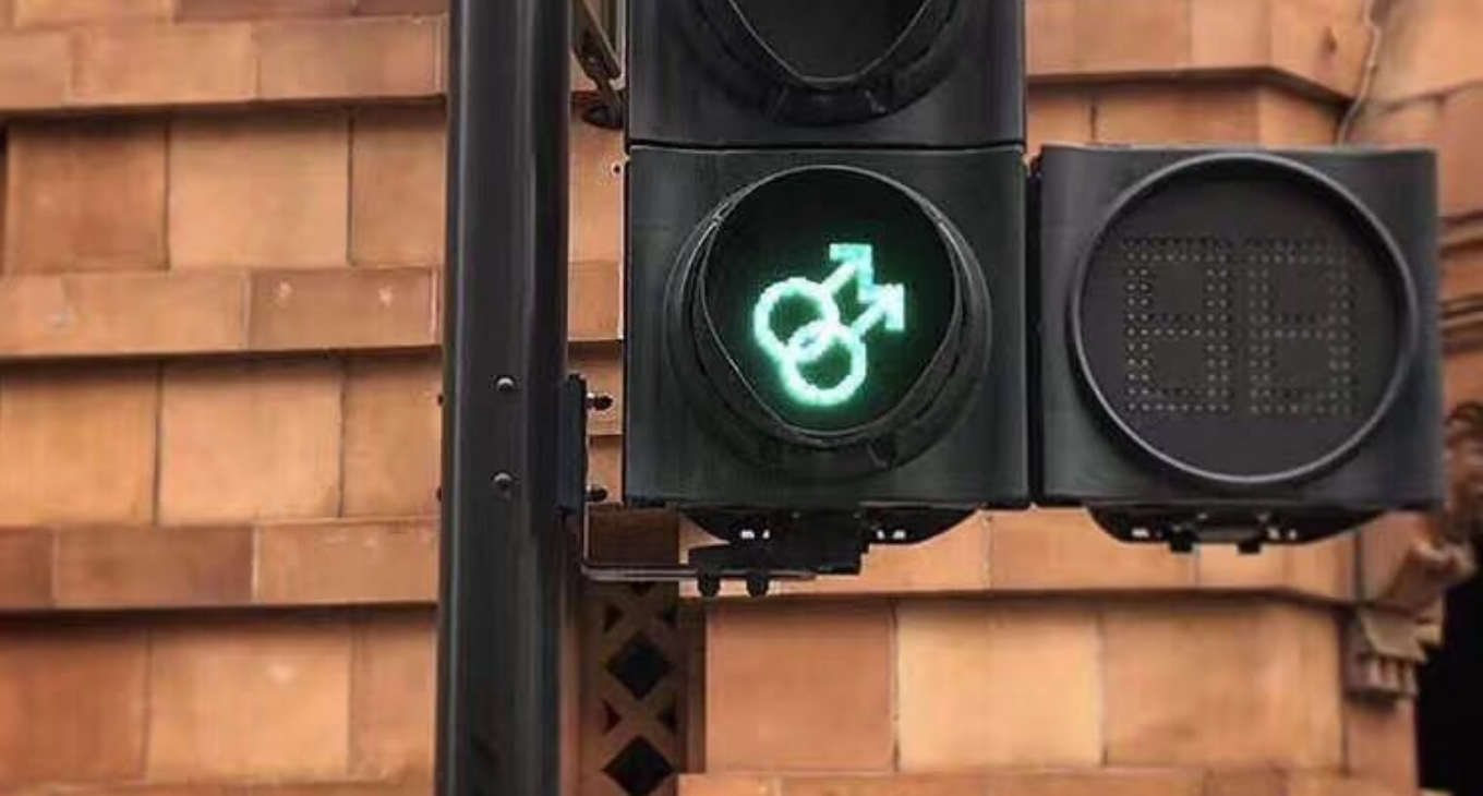 Manchester Launches Inclusive Traffic Lights For Pride Sbs Sexuality