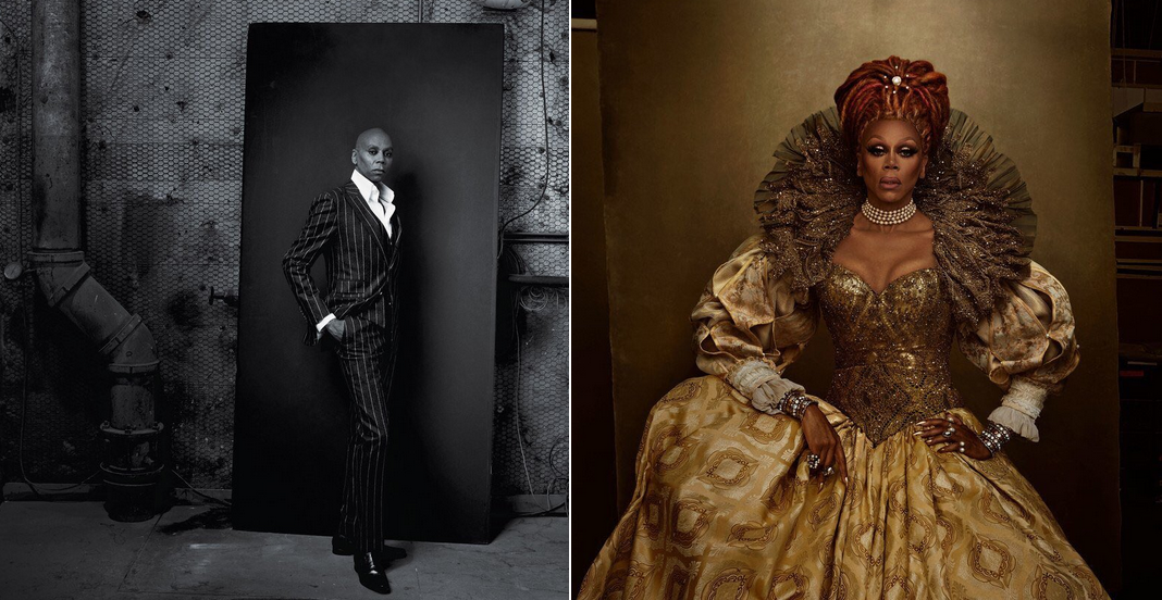 RuPaul is stunning both in and out of drag for the latest ...