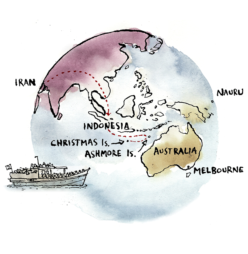 Where Is Christmas Island On A Map.Sex Lies And Detention