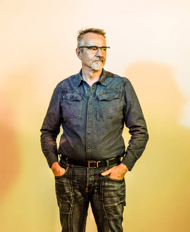 More than 30 years of living with HIV: David Crawford.