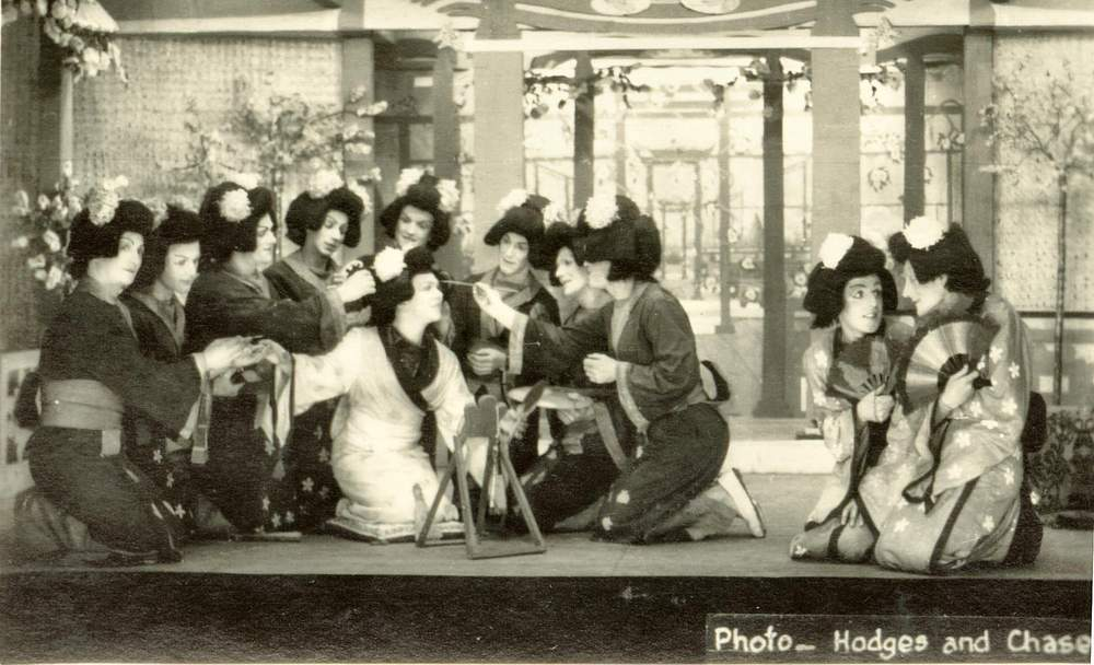 A Stalag 383 performance of 'The Mikado' (Raine Alexander)