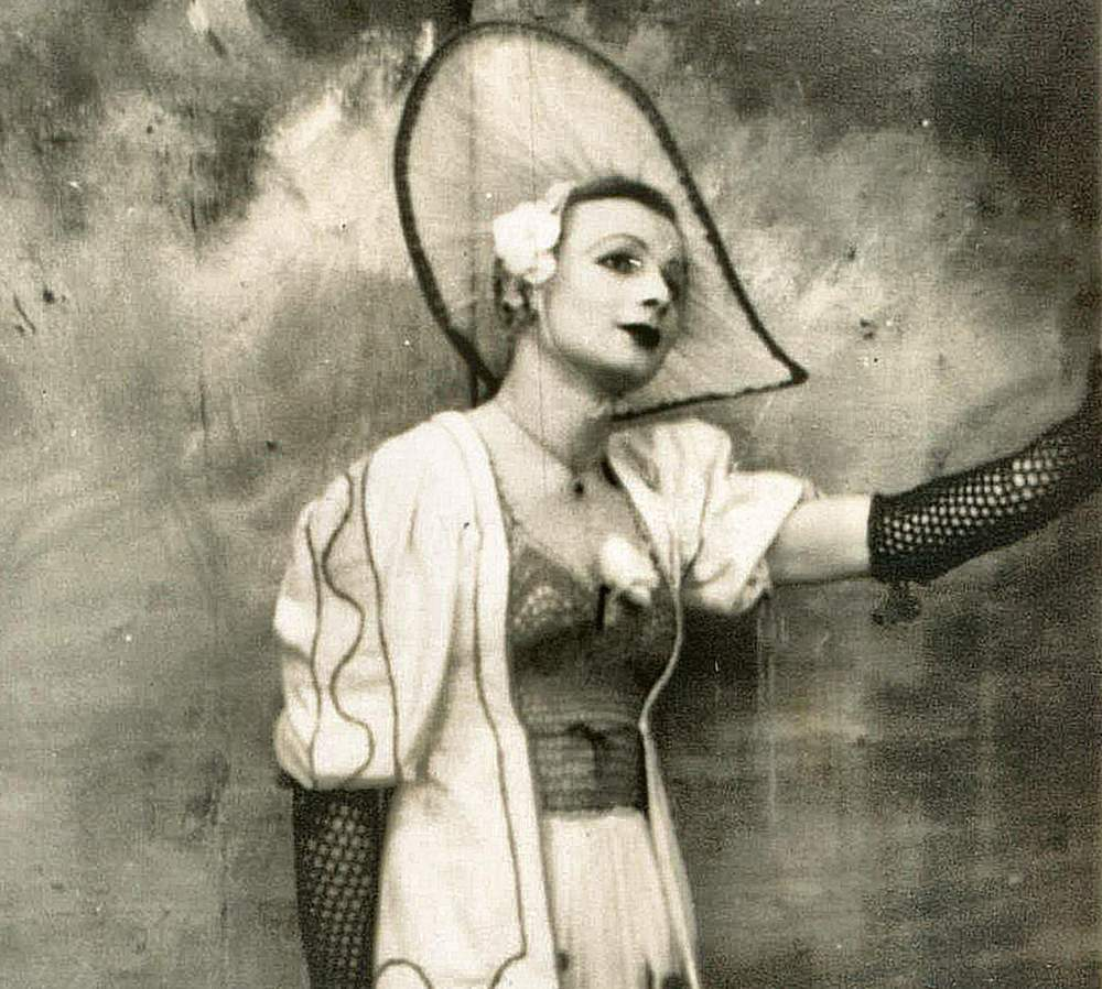 Pinkie Smith was a queer 'showgirl' in the camp (Raine Alexander)