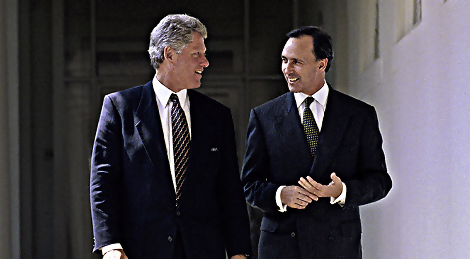 Prime Minister Paul Keating visits the White House in 1993, after his November 1992 reform (National Archives of Australia)