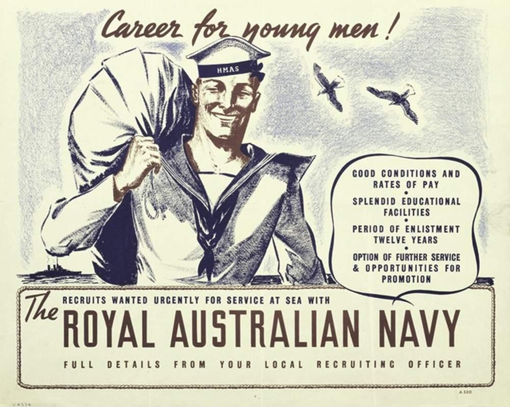 WWI recruitment poster (Australian War Memorial)