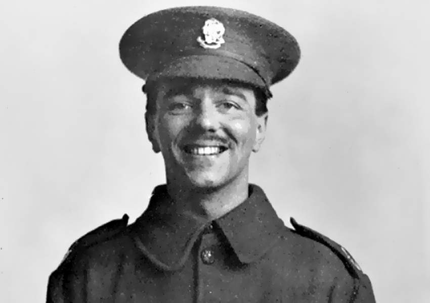 Owen is one of WWI's most acclaimed poets (Wikimedia Commons)