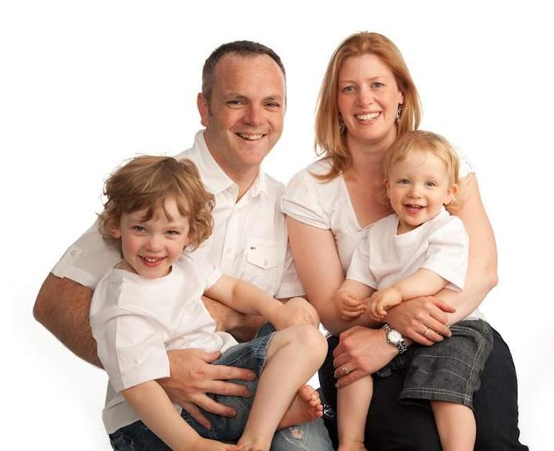 Leighee Eastbury and family (Photo: Facebook).