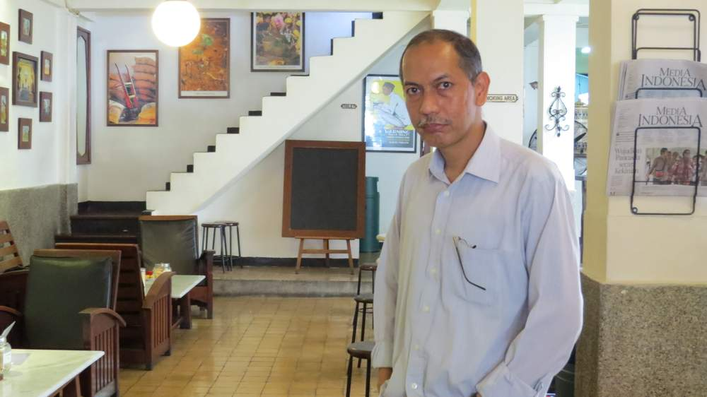 Former prosecutor and current commissioner of Indonesia's State Prosecutor Oversight Commission, Ferdinand Andi-Lolo. (Photo: Deborah Cassrels)