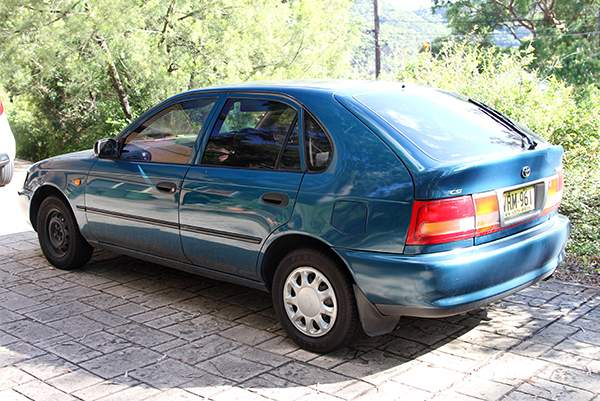 Matthew Leveson's car was found abandoned.(AAP Image\/NSW Police)