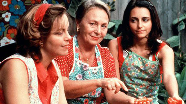 What representation of Australian society is presented in the film 'looking for Alibrandi'?