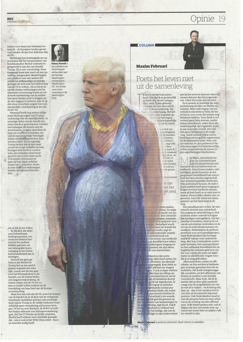 'Unplanned Parenthood', NRC Handelsblad, Series Part II by Jet Nijkamp