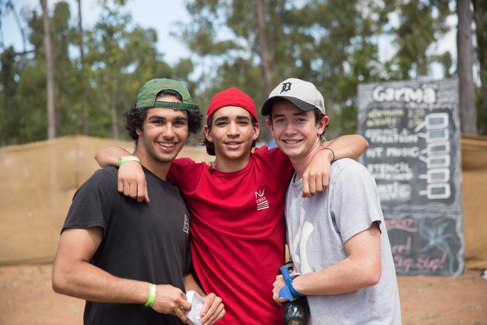 Boys at Garma