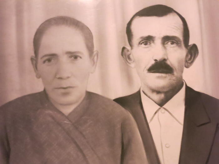 The writer's grandparents, who were Orthodox Christian refugees expelled from Anatolia in Turkey as part of the 1923 population exchange with Greece.