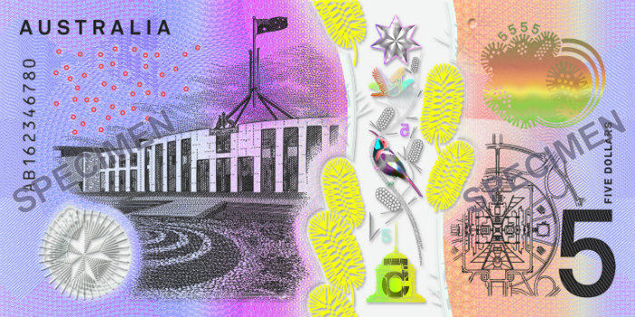 new five dollar note