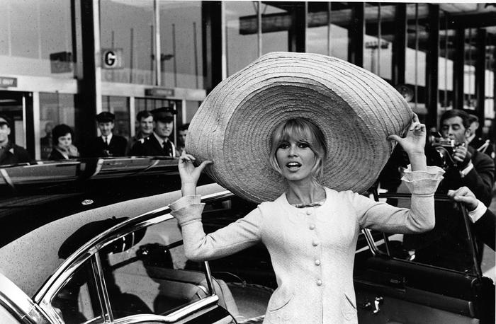 Brigitte Bardot, seen here in 1965, has told a magazine that she found it charming when men told her that she was beautiful.