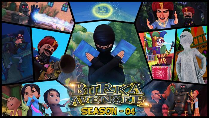 Books are the weapons for the Burka Avenger who fights match fixing, corruption and sexism.