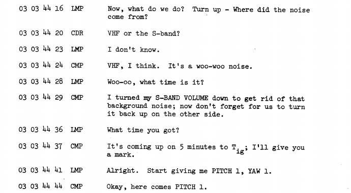 Apollo 11, transcripts