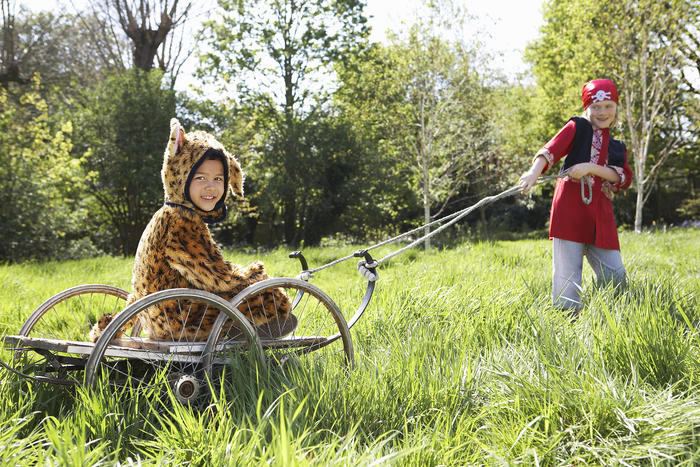 Free range parenting lets children do, mostly, what they like and learn from their mistakes