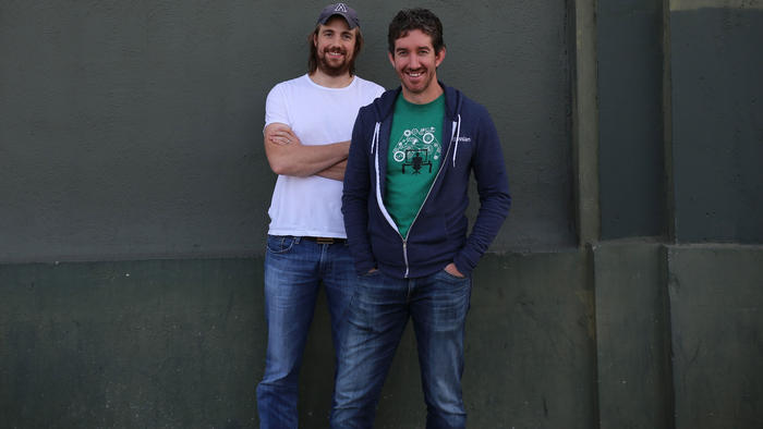 Scott Farquhar and Mike Cannon-Brookes