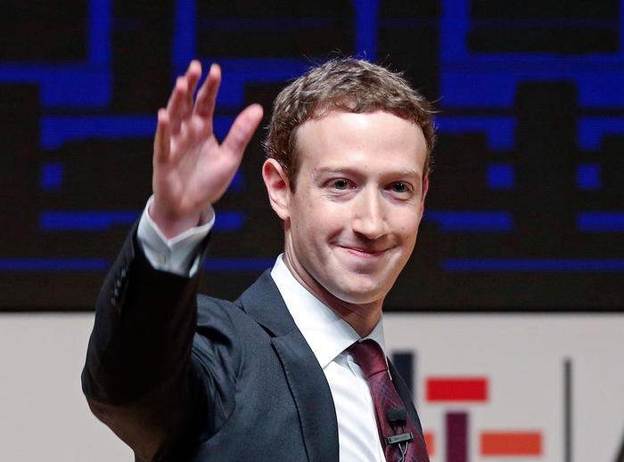 Facebook co-founder Mark Zuckerbeg came in at number 6 on the list with a total net worth of AUD59 billion.