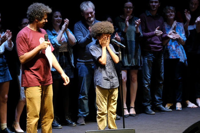 12 year old Solli Raphael is named the Australian Poetry Slam Champion