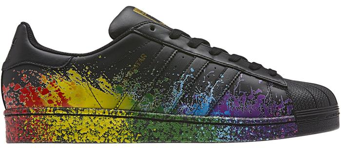 Unfortunately Adidas' Pride Pack collection isn't available in Australia ( Adidas)