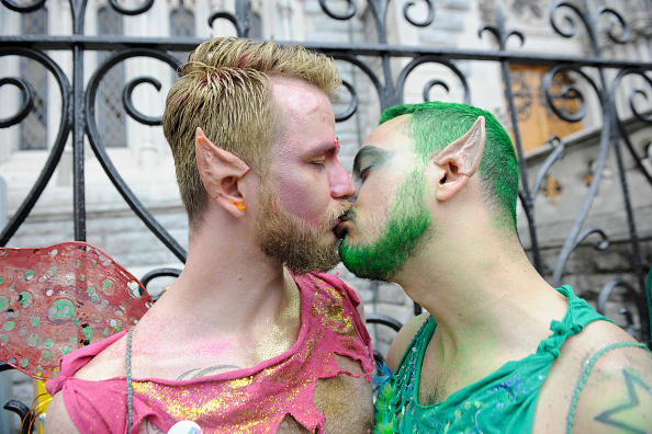Gay Pride Is Celebrated In Dublin