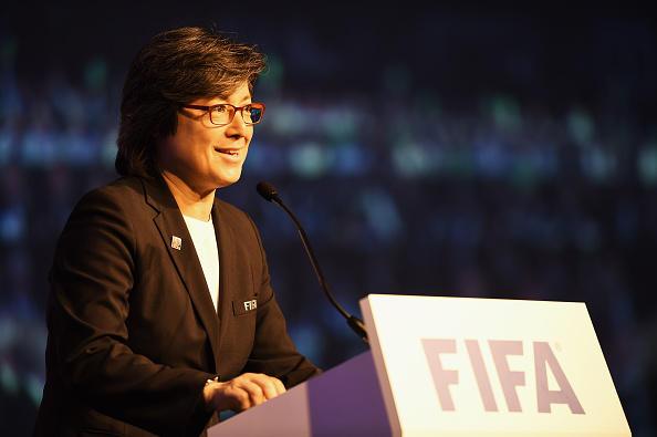Moya Dodd addresses delegates at the 6th FIFA Women's Football Symposium - FIFA Women's World Cup 2015