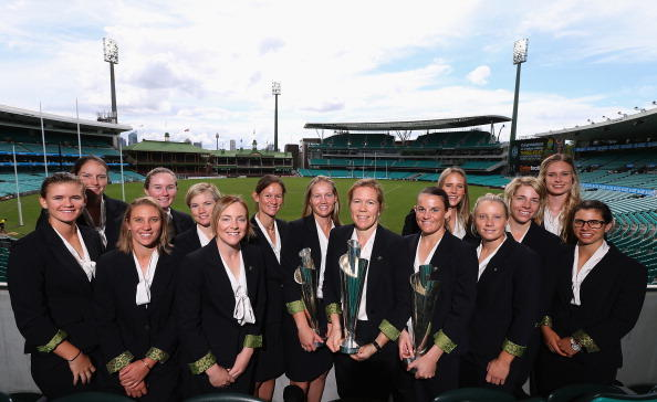 Australian Southern Stars 2014 T20 World Cup Welcome Home Reception