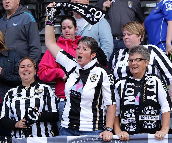 Notts County fan