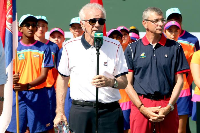 Raymond Moore, tennis