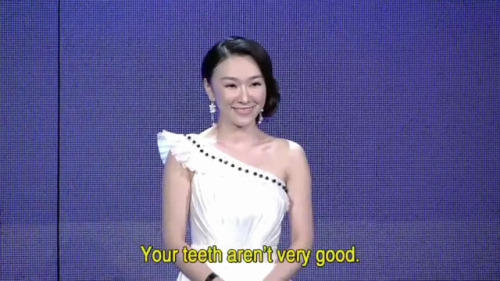 If You Are The One bad teeth
