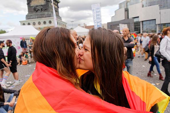 The LGBT Community Celebrates The 45th Pride In Paris