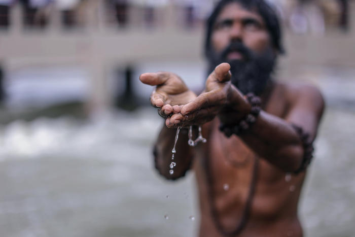 Hindu customs require the body to be cremated, most likely a day or two after the death. The family may also drop water from the Ganges River.