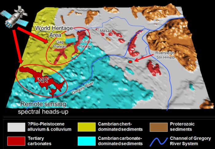 riversleigh satellite data