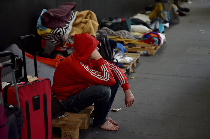 Most people who are homeless (39 per cent) live in severely overcrowded dwellings.